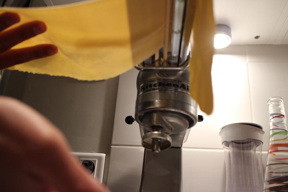 laminoir kitchen aid - Soirée Pasta La Vista Baby