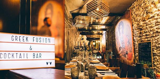 Une - Restaurant Ikône Le nouveau temple parisien de la gastronomie grecque