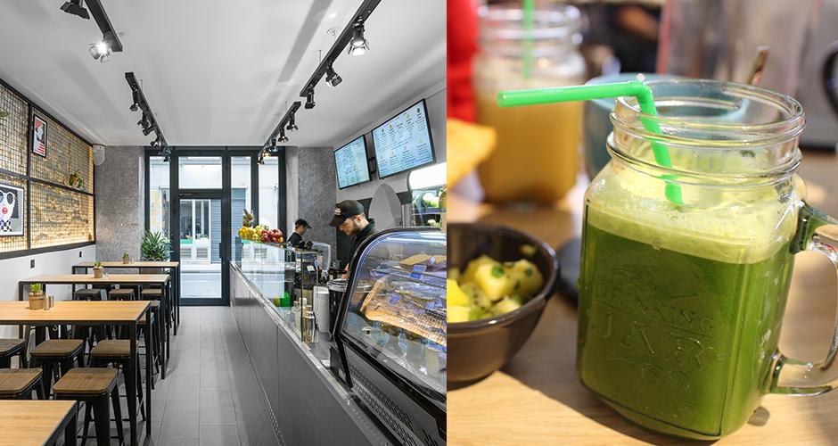 ensuite jus green - Restaurant Ensuite - jus frais et brunch vitaminé