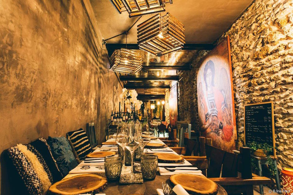 nouveau restaurant - Restaurant Ikône Le nouveau temple parisien de la gastronomie grecque