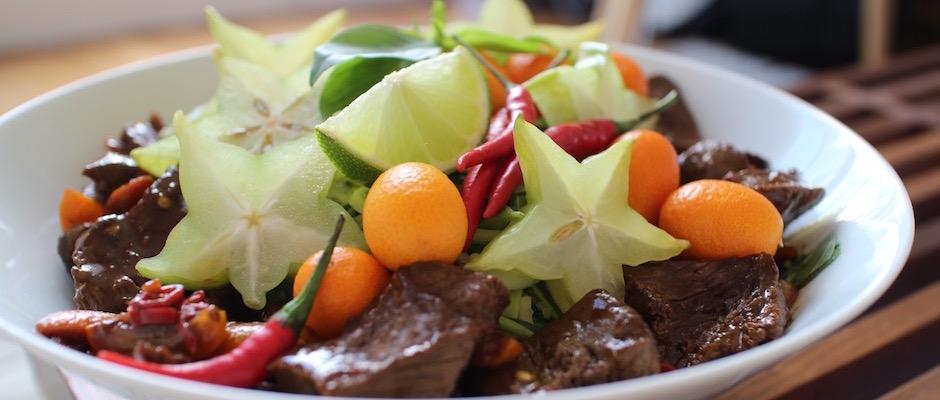 recette sexy - Salade de bœuf thaï exotique