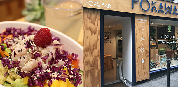 tendance Restaurant Pokawa - poke bowl headquarter parisien