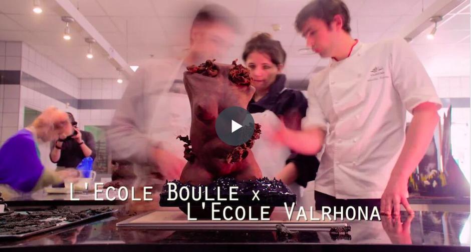 école boulle et chocolat Valrhona