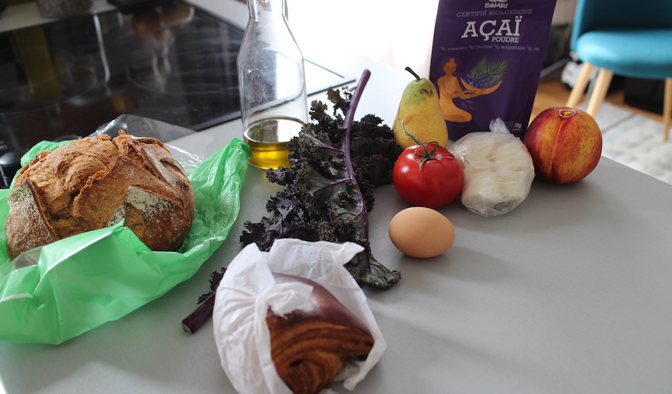 ingrédients Le meilleur brunch healthy maison de Paris