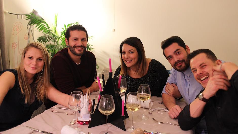 Les amis - magnifique-diner-de-noel-livre