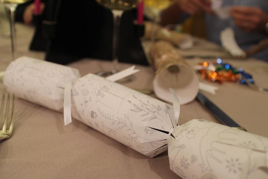 crackers anglais - magnifique-diner-de-noel-livre