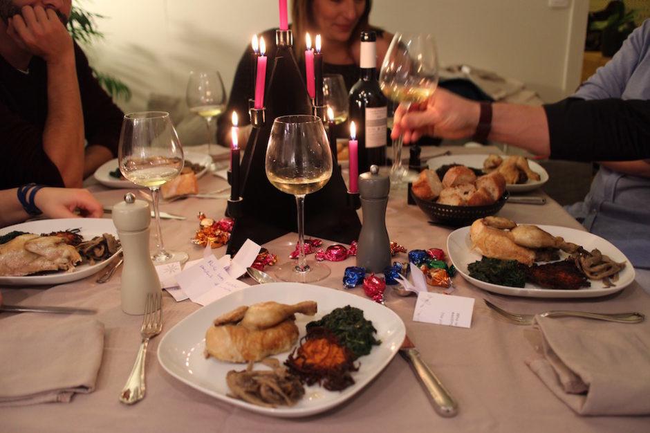 table de fete - magnifique-diner-de-noel-livre