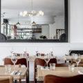 Décor tables et miroir - Restaurant Robert le néobistrot qui éveille vos papilles