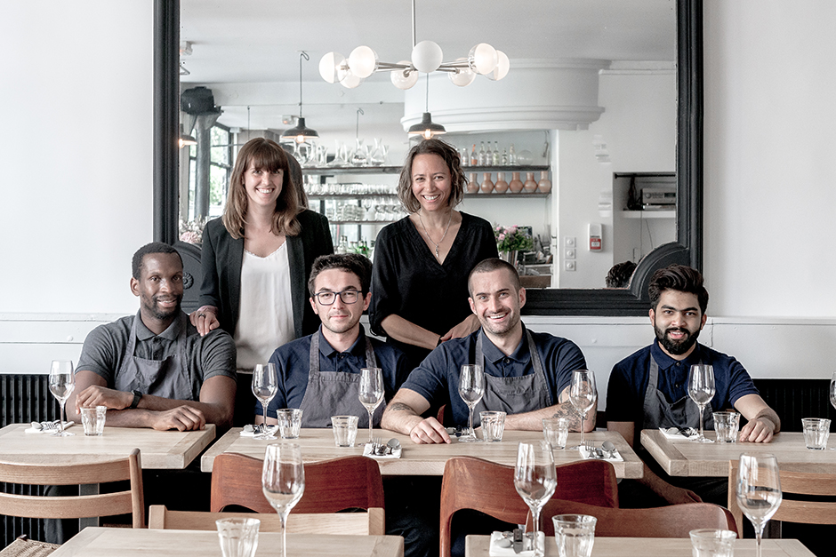 Photo de groupe - Restaurant Robert le neobistrot qui eveille les papilles