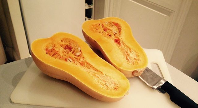 courge butternut nature