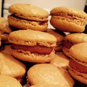macarons caramel beurre salé beaux et bons
