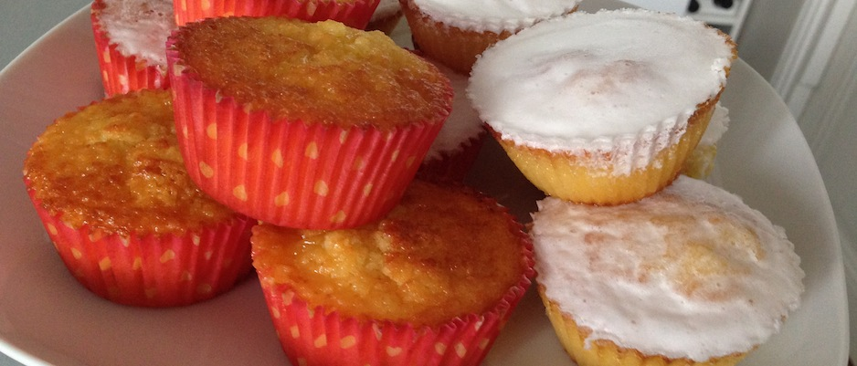 cupcakes citron lemon curd maison