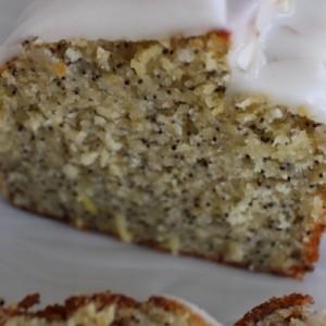 Cake énergisant citron - pavot