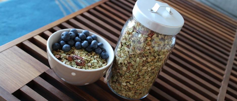 Granola pistache naturel une