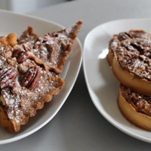 Tarte maison américaine aux noix de pecan - The American pecan pie - La véritable tarte aux noix de pecan