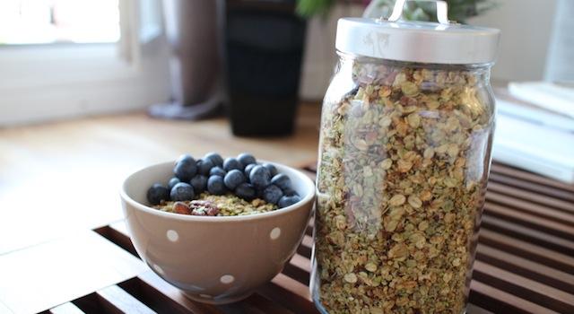 déguster un vrai granola maison - Granola pistache naturel