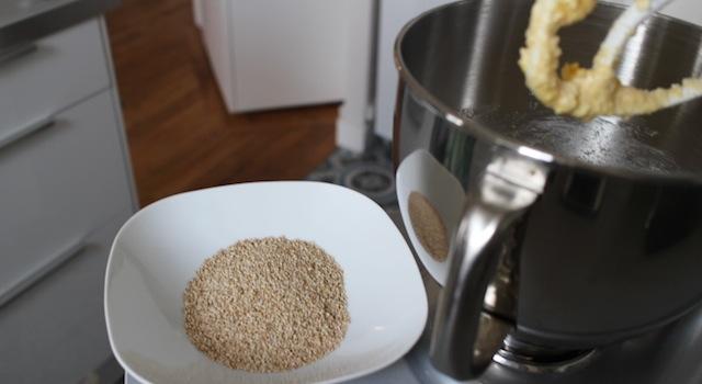 préparer le sésame bio - Biscuits sablés au sésame