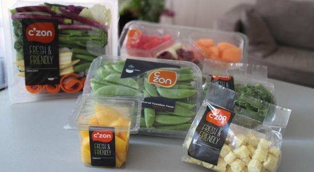 sélection de fruits et légumes C Zon à tester