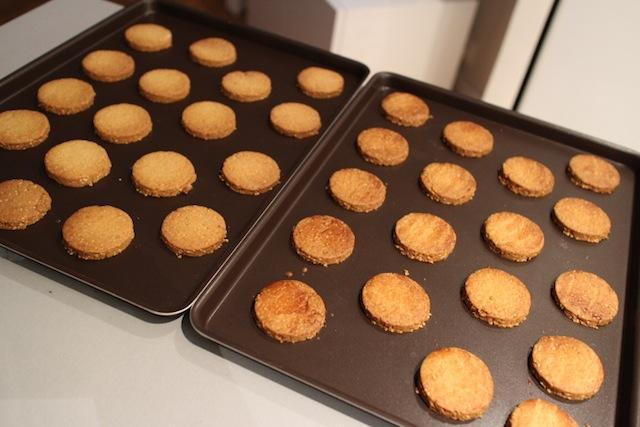 sablés au sésame après cuisson - Biscuits sablés au sésame