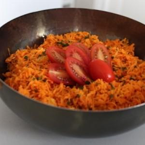 Salade crue de carottes a l'orange 1