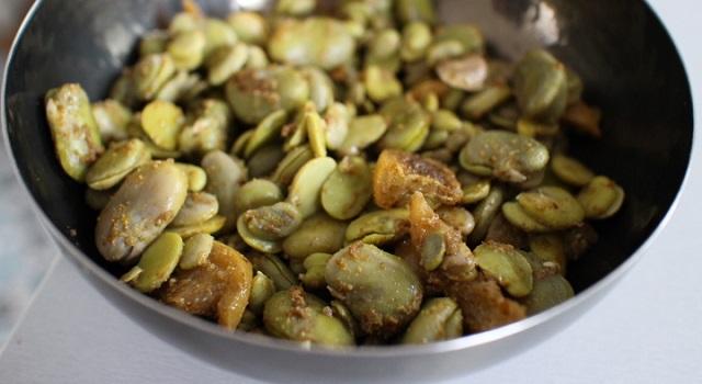 recette orientale et méditerranéenne pour l'été - Salade de fèves aux citrons confits