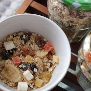 Granola maison aux fruits exotiques une1