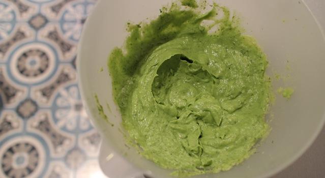 crème épaisse au gout de basilic - Sauce pesto légère et healthy
