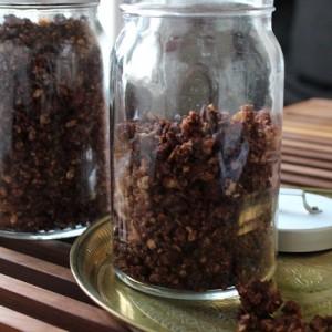 Céréales maison chocolat & noisettes