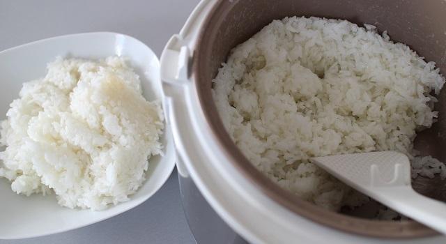 cuisson du riz au rice cooker - Un bibimbap fait maison