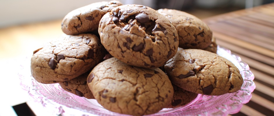 Extra soft cookies chocolat et praliné 2