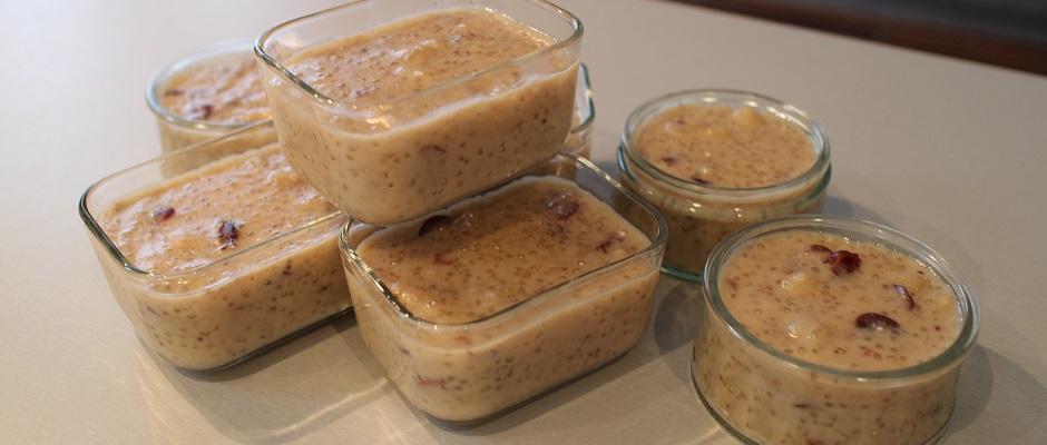 Healthy gâteau de soja aux super fruits