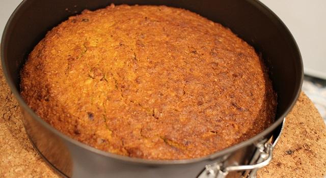 sortie le carrot cake bien doré - Carrot Cake - Petit écureuil