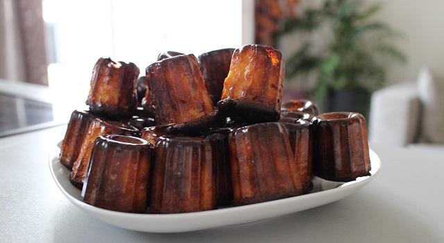 un petit gâteau que les gens adorent - Des cannelés comme à Bordeaux