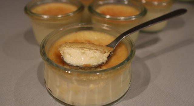 texture lisse et parfaite - Petits pots de crème à la vanille