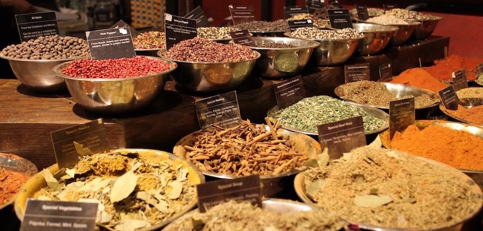 le bar à épices du chelsea market - Pont de Brooklyn Manhattan New-York Foodie - le voyage gastronomique