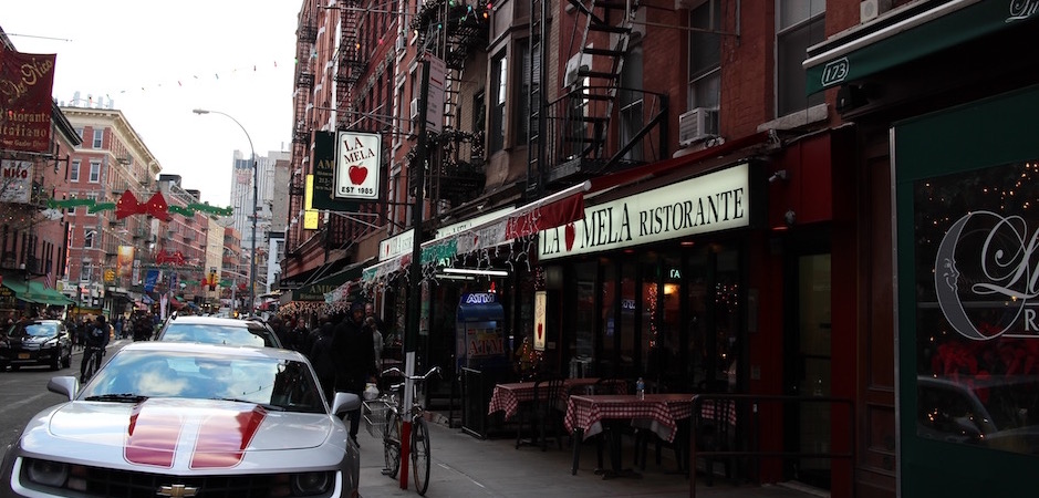little Italy et La Mela le restaurant italien emblématique - Pont de Brooklyn Manhattan New-York Foodie - le voyage gastronomique
