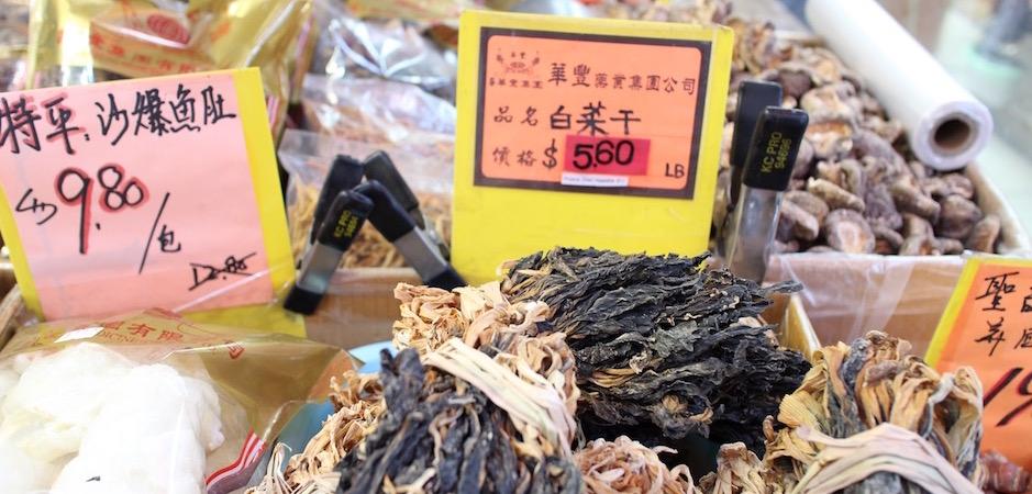 parler chinois pour comprendre les étiquettes a chinatown - Pont de Brooklyn Manhattan New-York Foodie - le voyage gastronomique