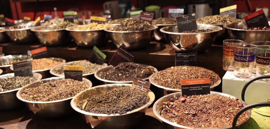 sélection de thés du chelsea market - Pont de Brooklyn Manhattan New-York Foodie - le voyage gastronomique