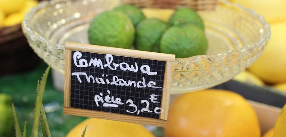 combawa frais - Le marché de Talensac - la visite foodie à Nantes