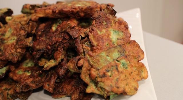 délicieux beignets de légumes recette terroir - Les farçous aveyronnais