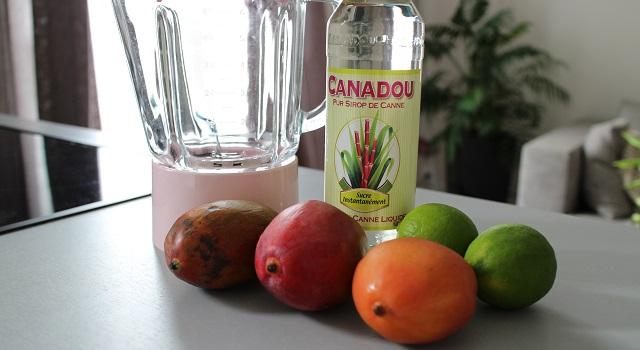 ingrédients du Sorbet mangue maison