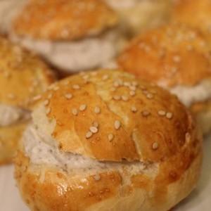 recette - Mini Buns apéritif Pac Man