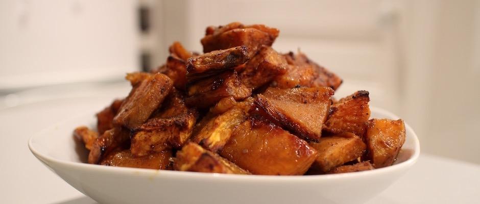 recette Potatoes de patates douces à la jamaïcaine