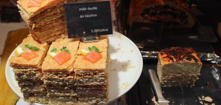 traiteur nantais millefeuille revisité - Le marché de Talensac - la visite foodie à Nantes