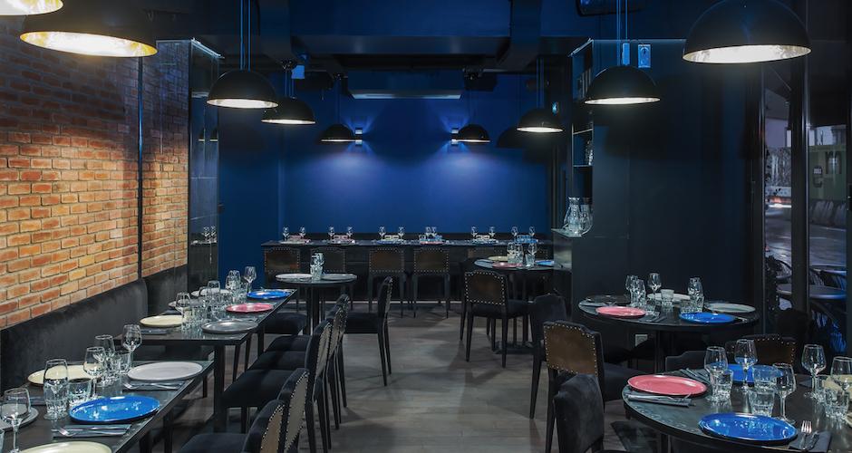 Restaurant Maison Else - table tendance parisienne