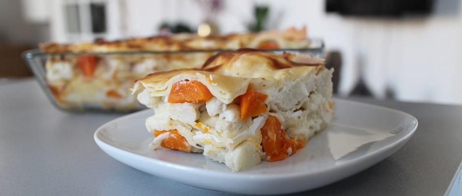 Recette Lasagnes blanches au poulet