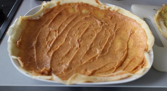 étaler le caramel au beurre salé - Makis sucrés chocolat, orange, caramel