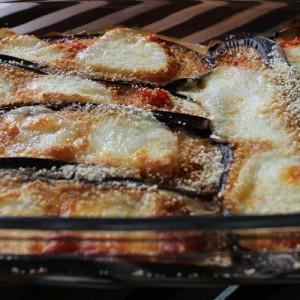 Recette Aubergines gratinées, tomate et mozzarella