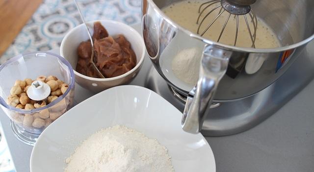 préparer les autres ingrédients - Brookie - le gâteau de folie