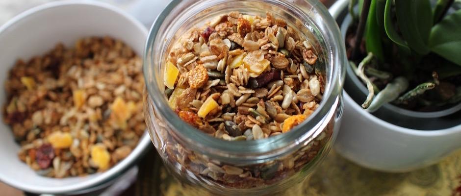 recette Granola énergétique - acidulé